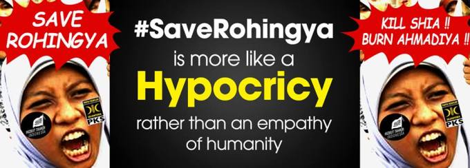 #SaveRohingya Hipocricy